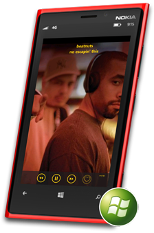 WEFUNK Windows Phone App