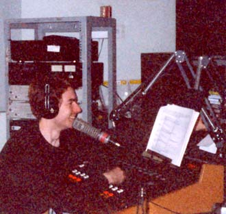 Professor Groove on the mic, WEFUNK 250