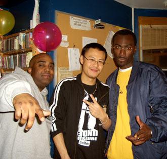 Ebony, DJ Static & PhD, WEFUNK 451
