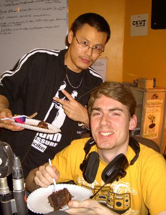 DJ Static & Professor Groove are always gettin' that cake, WEFUNK 451