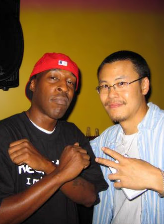 DJ Roc Raida (X-ecutioners) with DJ Static