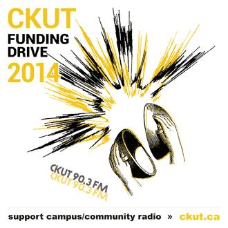 CKUT Funding Drive - Please donate!